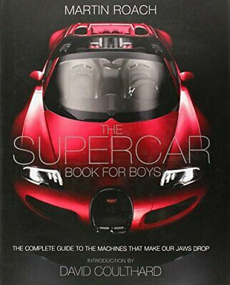 The Supercar Book by Roach, Martin Book The Cheap Fast Free Post