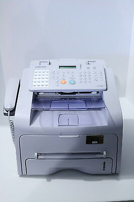 samsung  sf-560r fax machine printer scanner copier usb black laser printer all