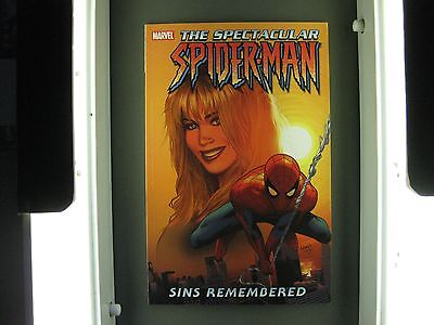 The Spectacular  Spider-Man Sins Remembered Tpb Condition Mint