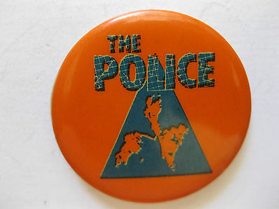 The Police Vintage Button Pin