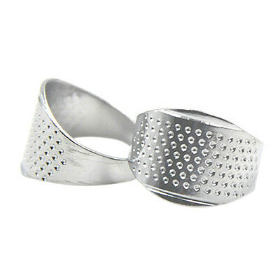 Thimble Sewing Quilting Metal Thimble Ring DIY Leather Craft Finger Protector AT