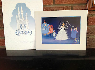 Exclusive Disney- Lithograph Cinderella, Pooh Toy Story & More choose from List