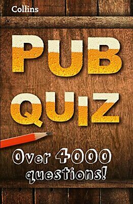 Collins Pub Quiz (Quiz Books) by Collins Book The Cheap Fast Free Post