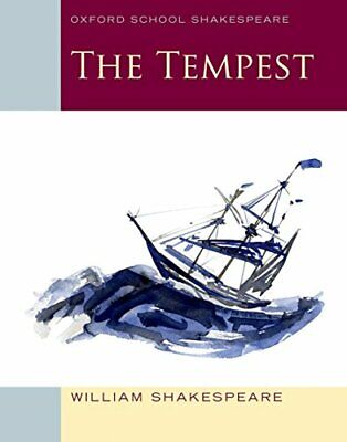 Oxford School Shakespeare: The Tempest by Shakespeare, William Paperback Book