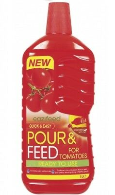Eazifeed Pour & Feed For Tomatoes Ready To Use Tomato Food Nutrients Mix 1L