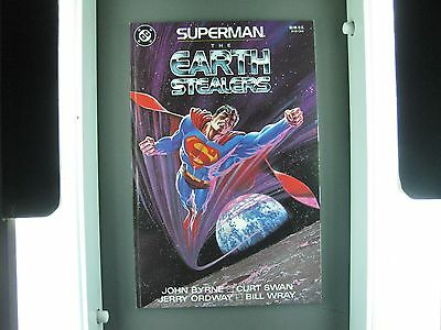 Superman The Earth Stealers John Byrne  Tpb  Mint Condition
