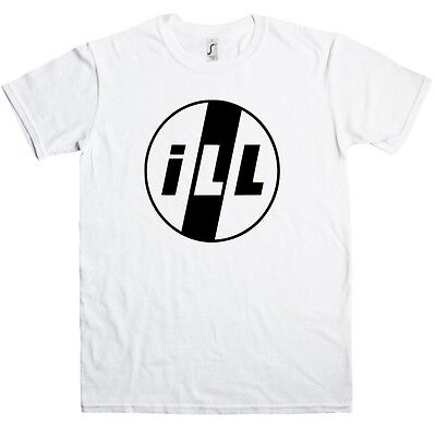 ill T-shirt - As Worn By Mike D, Hip Hop, Punk, Pil, All Sizes