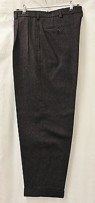 Men's 1950's Navy with Blue & Pink Fleck Peg Trousers Rockabilly Rock & Roll RnR