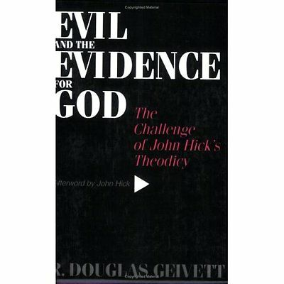Evil and Evidence for God: The Challenge of John Hick's - Paperback NEW R. Dougl