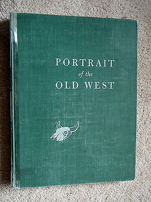 PORTRAIT OF THE OLD WEST - HAROLD McCRACKEN - McGRAW HILL 1952 - 1st ED HB EXLIB