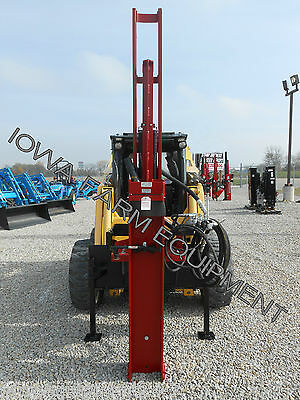 SHAVER HD-10HydAdj 71,500LBS FORCE SKID STEER HYDRAULIC POST DRIVER,POST POUNDER