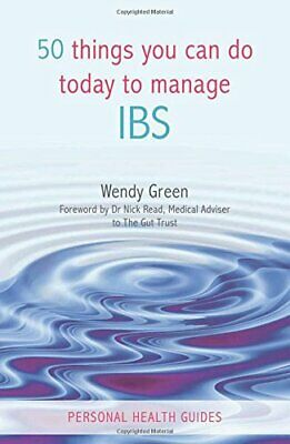 50 Things You Can Do to Manage IBS by Green, Wendy Paperback Book The Cheap Fast