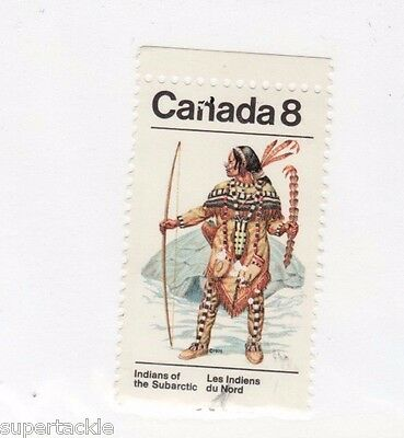 Canada printing error stamp. #713 with printers smudge