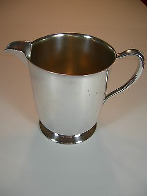 Vintage Academy Silver on Copper Silverplate 6 1/2 Inch Pitcher