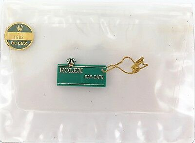 ROLEX 1970s / 80s OBSOLETE VINTAGE 1803 DAY-DATE DAY DATE PRESIDENT CLEAR WALLET