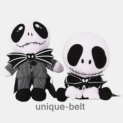 New The Nightmare Before Christmas Jack Skellington Soft Stuffed Plush doll toy