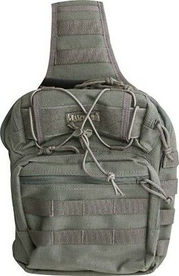 Maxpedition Lunada Gearslinger 0422F Foliage Green. Main compartment measures 12