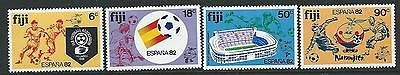 Fiji Sg636/9 1982 World Cup Football Mnh