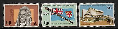 Fiji Sg620/2 1981 Commonwealth Parliamentary Conference  Mnh