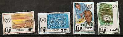 Fiji Sg608/11 1981 Year Of Disabled Mnh