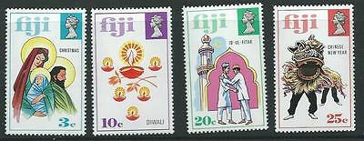 Fiji Sg485/8 1973 Festivals Of Joy  Mnh