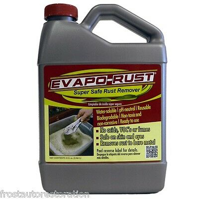 2x Evapo-Rust Safe Rust Remover 7.56L US Gallons Evaporust Treatment Solution