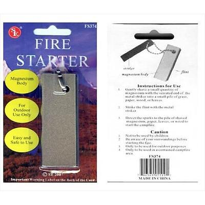 FS374 Large Magnesium Fire Starter