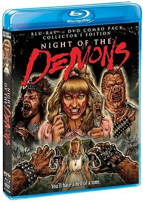 Night Of The Demons: Collector's Edition - 2 DIS (2014, Blu-ray NEUF) (RÉGION A)