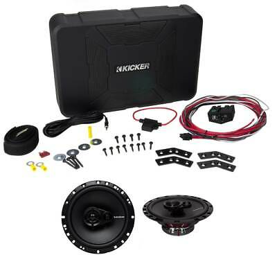 kicker 11hs8 8 hideaway powered 150 watt subwoofer enclosure sub kicker 11hs8 8 150w hideaway car audio powered subwoofer sub hs8 6 5 speakers
