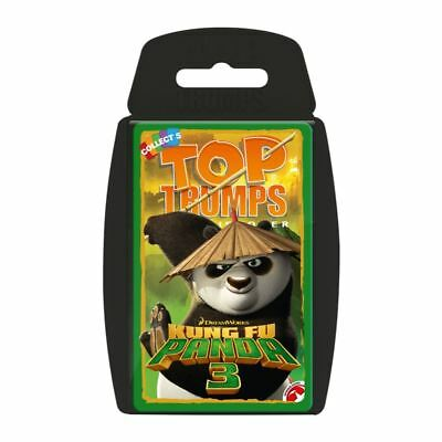 Top Trumps Dreamworks Kung Fu Panda 3 2016 Card Game Brand New