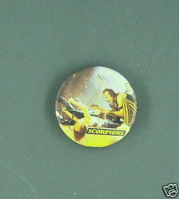 Scorpions Pin badge button pinback