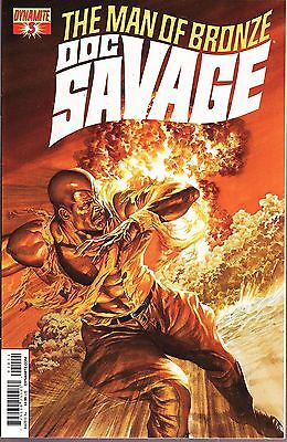 Doc Savage The Man of Bronze No.3 2013 Alex Ross Cover
