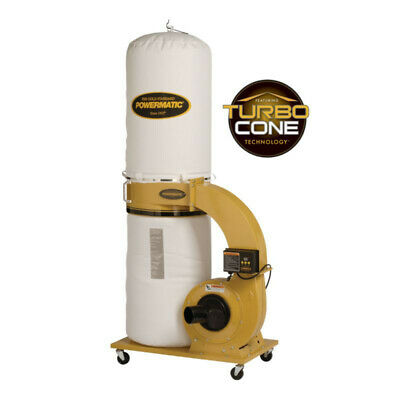 Powermatic PM1300TX-BK 1.75HP Dust Collector 1791078K New
