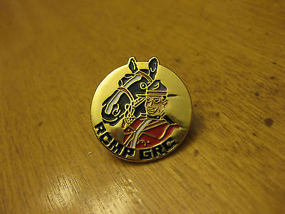 Rcmp  Royal Canadian Mounted Police   Pin Back
