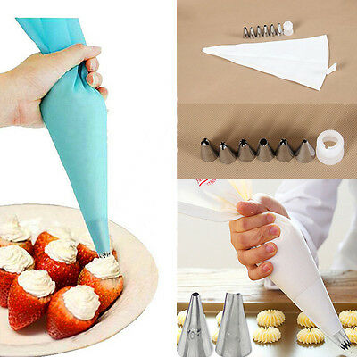 8 pcs/set Baking Tools Chocolate Pastry Tools Cake Decorating Mold Accessories