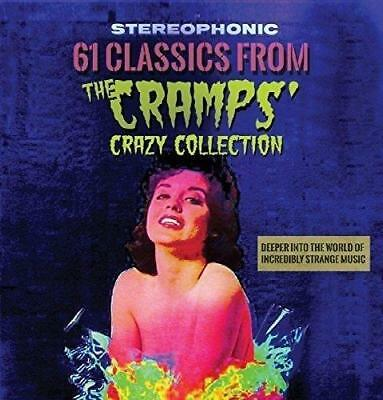 61 Classics From The Cramps Crazy Collection - Various Artists (NEW 2CD)