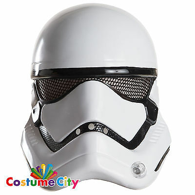 Adults Official Star Wars Force Awakens Stormtrooper 1/2 Mask Costume Accessory