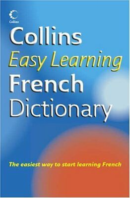 Collins Easy Learning - Collins Easy Learning French Dictionary (Ea... Paperback