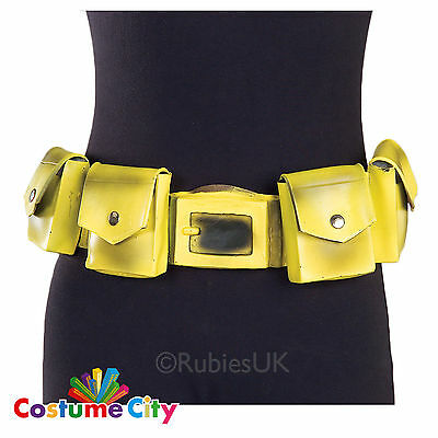 Adults Official DC Comics Batman Utility Belt Fancy Dress Costume Accessory