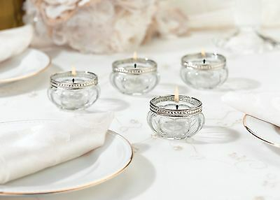 Set of 4 Set Of 4 Tealight Cup Wedding & Party Favours