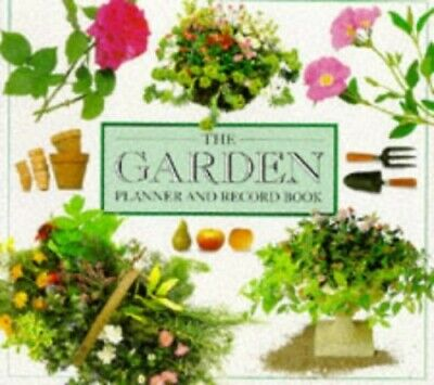 THE GARDEN PLANNER AND RECORD BOOK (DIARY) Hardback Book The Cheap Fast Free