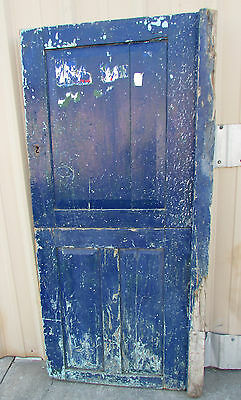 Antique Heavy Dutch Mexican Old Door-Vintage-Primitive-Rustic-31x71-Barn Doors