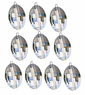 prisms, lamp repair, refurbishing, lamps, lighting, collectibles10pcs clear crystal oval shape chandelier part drop prisms pendant home decor
