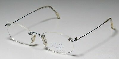 b29274ab8a49 NEW ICE 5 50-18-140 Rimless/Drill Mount Women/Men Eyeglass Frame ...