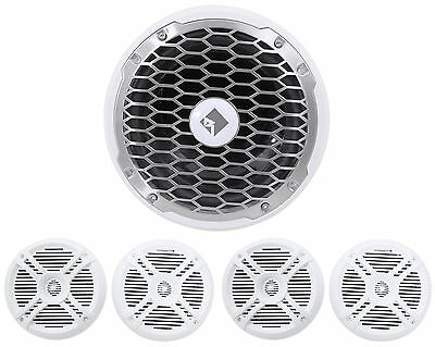 "Rockford Fosgate PM210S4 500 Watt 10"" Marine Boat Subwoofer Sub + (4) Speakers"