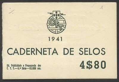 PORTUGAL RARE #565a-67a COMPLETE BOOKLET - 1935 Issues
