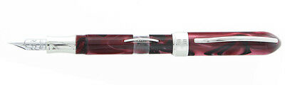 Visconti Millenium Arc Moonlight Burgundy Fountain Pen - F