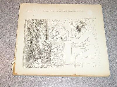 PICASSO AND MAN Gallery Toronto Museum Montreal 1964 HTF Exibition Book