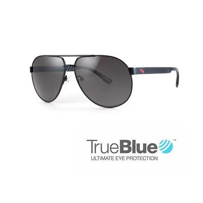 Sundog Golf Uptown TrueBlue Sunglasses (Matte Black / Smoke)