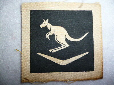 Australian WW2 6th Division Printed Formation Patch